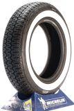 165R15 86S TL Michelin XZX 40mm Weißwand